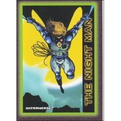 1993 Skybox Ultraverse: Series 1 THE NIGHT MAN #77
