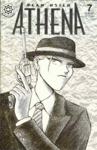 Athena #7 VF/NM; Antarctic | save on shipping - details inside