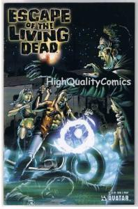 ESCAPE of the LIVING DEAD 3, NM, Wrap, Avatar, Zombies,2005,more Horror in store