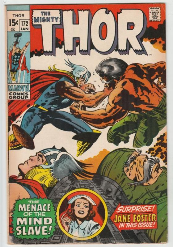 Thor, the Mighty #172 (Jan-70) VF+ High-Grade Thor