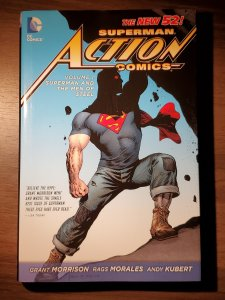 Action Comics HC VOL 01: Superman and the Men of Steel (2012) - Used, Like New
