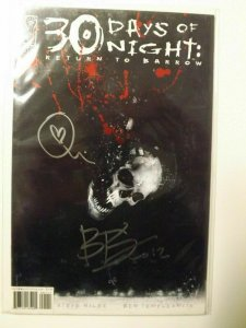 30 Days of Night Return to Barrow #1 (Signed by Ben Templesmith)