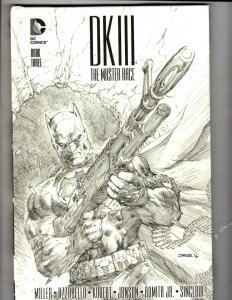 Batman Dark Knight 3 Master Race Book # 3 DC Comics HARDCOVER SEALED Book J307