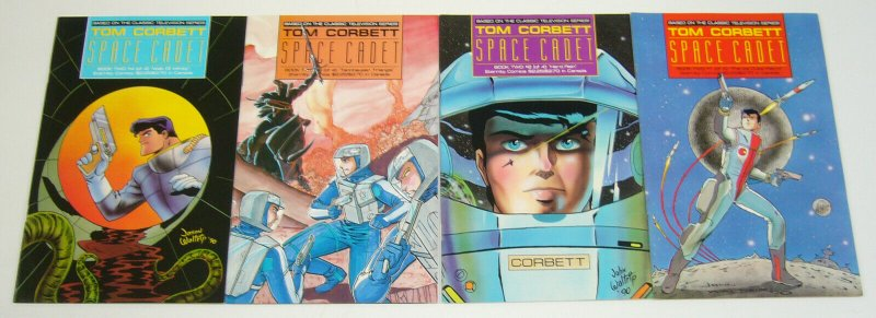 Tom Corbett: Space Cadet Book Two #1-4 VF/NM complete series - vol. 2 set lot