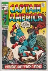 Captain America #132 (Dec-70) VF/NM High-Grade Captain America