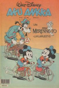 Walt Disney's Aku Ankka (1990) #33 FN; Sanoma   save on shipping - details insid