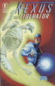 Nexus the Liberator #3 VF; Dark Horse   save on shipping - details inside