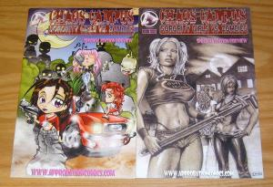 Chaos Campus: Sorority Girls vs. Zombies #1-2 VF/NM complete series - bad girls