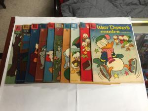 Walt Disneys Comics And Stories Dell 228 219 216 215 208 205 202 201 200 197