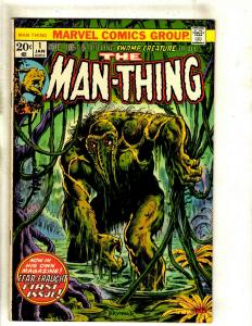 Man-Thing # 1 VF/NM Marvel Comic Book Horror Fear Monster Scary Suspense RS1
