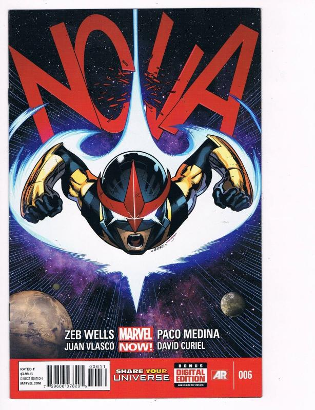 Nova # 6 Marvel Comic Books Hi-Res Scans Awesome Issue Modern Age WOW!!!!!!! S13