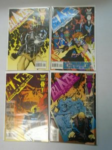 Blaze Legacy of Blood set #1-4 8.0 VF (1993)