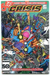 CRISIS ON INFINITE EARTH #12 1986- Wolfman- Perez- NM-