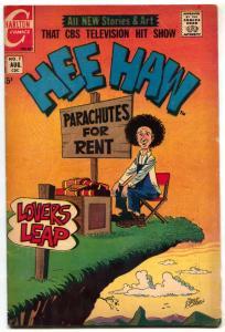 Hee Haw #7 1971- Charlton Bronze Age- Fat Girl story VG