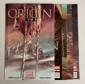 Origin II #1-5 Set (Marvel 2014) 1 2 3 4 5 Kieron Gillen (9.0+)