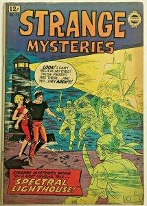 STRANGE MYSTERIES#17 VG/FN 1964 SUPER COMICS BRONZE AGE