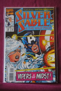 Silver Sable and the Wild Pack #15 (1993)