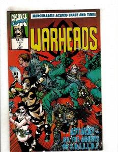 Warheads (UK) #2 (1992) YY5
