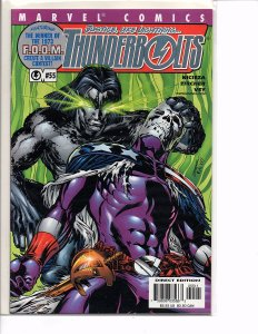 Marvel Comics Thunderbolts #55 Mike Deodato, Jr. Wrap Around Cover