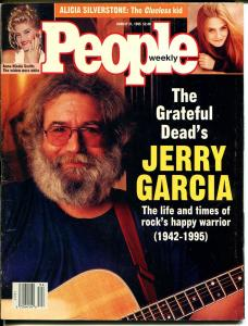 People Weekly 8/21/1995-Jery Garcia-Grateful Dead-VG/FN