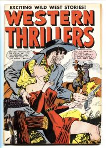 Western Thrillers #52 1954- Fox Comics-Double Cover-Golden-Age
