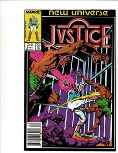 12 Comics Justice # 1 2 3 4 5 6 7  Nightmask # 5 7 11 12 Merc # 7 11 WS8