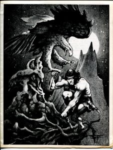 Tarzine #6 8/1982-Weintz-Edgar Rice Burroughs-Tarzan-collector info-FN/VF