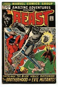 AMAZING ADVENTURES #13-Patsy Walker-Beast-comic book-1972