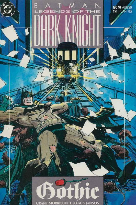 Batman: Legends of the Dark Knight #10 VF/NM; DC   save on shipping - details in