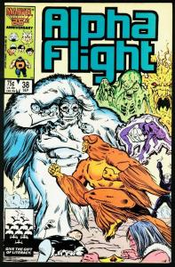 ALPHA FLIGHT #38-MARVEL COMICS-MUTANTS! NM