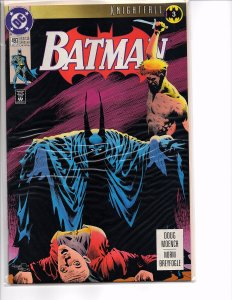 DC Comics Batman #500 Knightfall Part 19 Bane Newsstand
