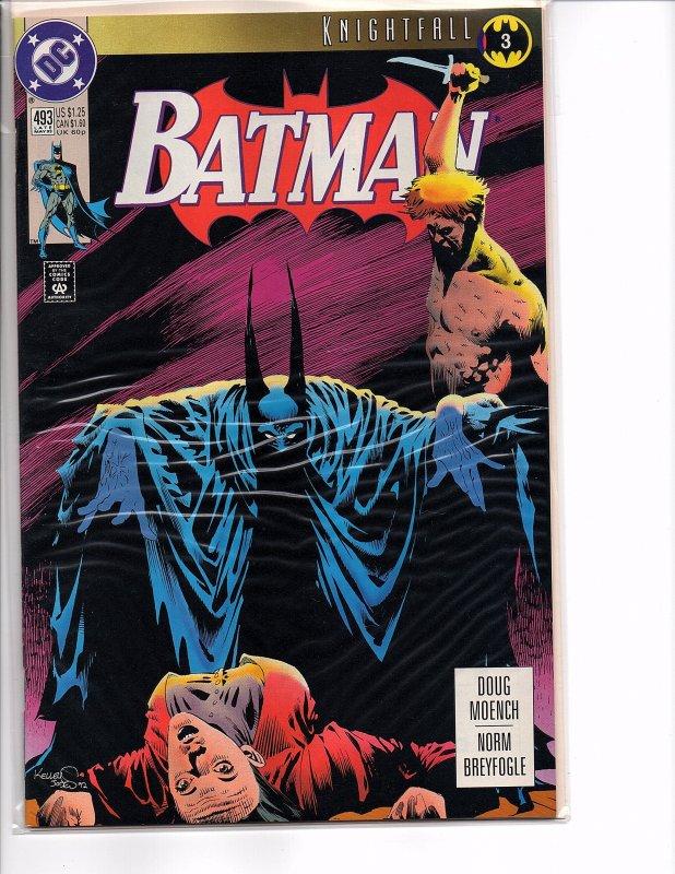 DC Comics Batman #500 Knightfall Part 19 Bane Newsstand
