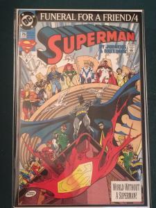 Superman #76 Funeral For A Friend part 4