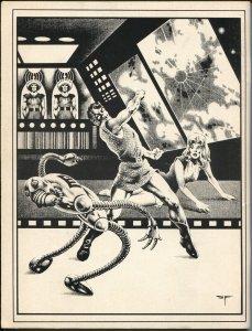 Rocket's Blast ComiCollector #127 1976-Van Hise-Star Trek-WDC's checklist-FN
