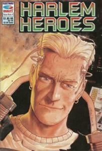Harlem Heroes #4 VF; Fleetway Quality | save on shipping - details inside