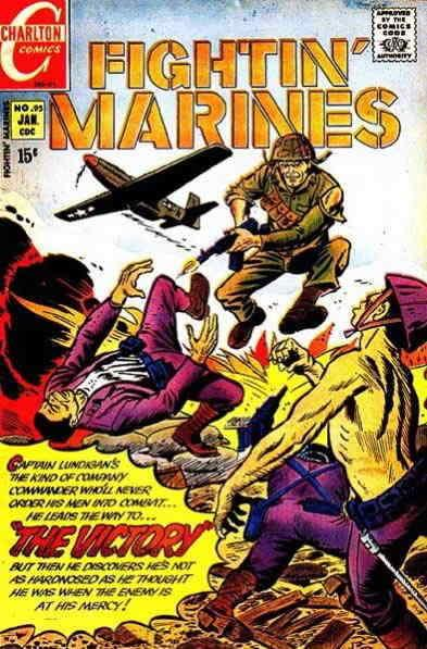 Fightin' Marines #95 FN; Charlton | save on shipping - details inside