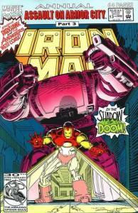 Iron Man (1968 series) Annual #13, NM- (Stock photo)