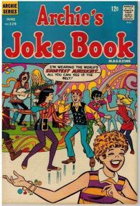 ARCHIES JOKE BOOK (1954-1982)125 F June 1968