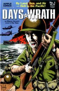 Days of Wrath #1 VF/NM; Apple   save on shipping - details inside