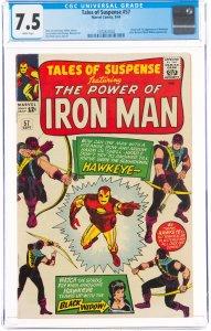 Tales of Suspense #57 (1964) CGC Graded 7.5