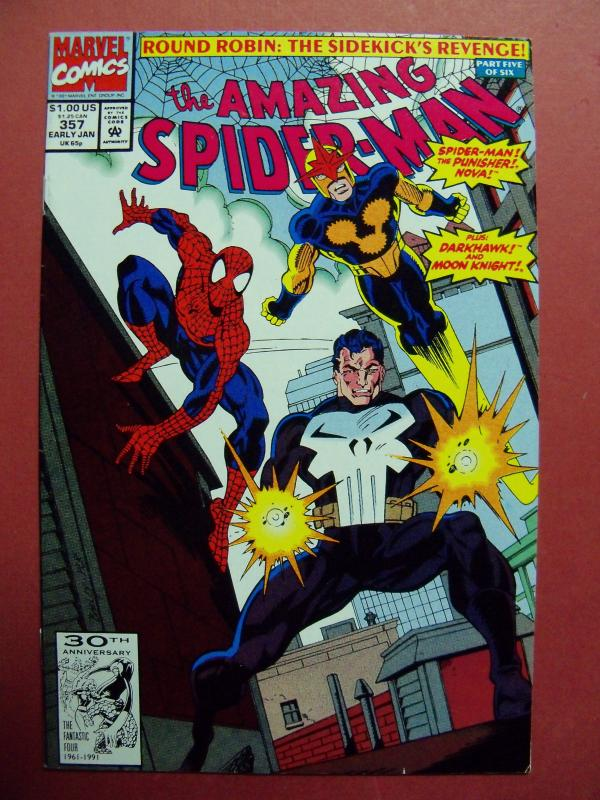 THE AMAZING SPIDER-MAN #357 (VF/NM 9.0) OR BETTER MARVEL COMICS HIGH GRADE