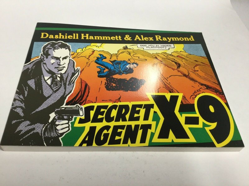 Secret Agent X-9 Oversized SC Softcover Kitchen Sink Press