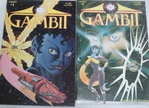 GAMBIT (1986 ORACLE) 1-2 THE SET!