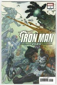 Iron Man 2020 #1 Bianchi Connecting Variant (Marvel, 2020) NM