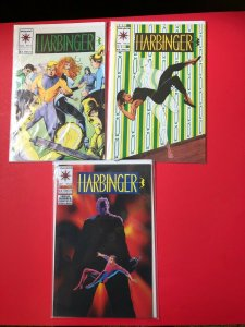 HARBINGER #'s 16,17.21, VALIANT / HIGH QUALITY