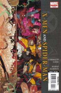 X-Men/Spider-Man (2009 series) #4, VF+ (Stock photo)