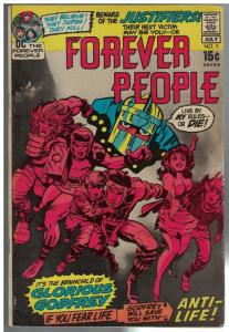 FOREVER PEOPLE 3 VG+ July 1971