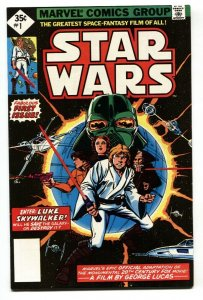 Star Wars #1 1977 Diamond reprint-Blank UPC NM-