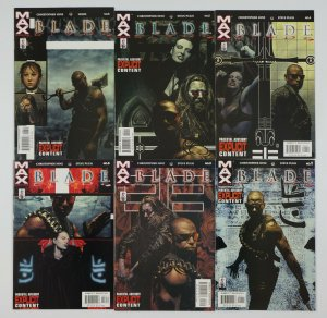 Blade #1-6 VF/NM complete series - marvel max - vampire hunter - tim bradstreet