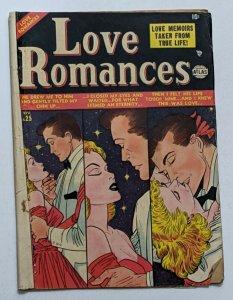 Love Romances #25 (Nov 1952, Atlas) Good 2.0 Carmine Infantino and Gil Kane art